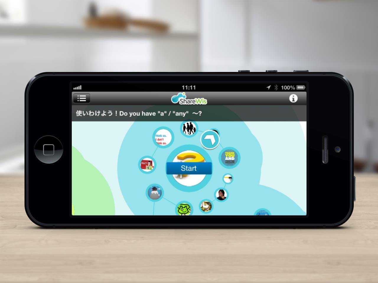 ShareWis iPhone, iPadアプリ バージョン1.1